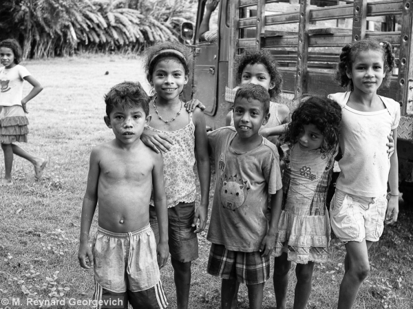 Children El Garzal Colombia CEDECOL